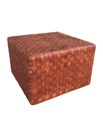 Lucca Studio Toby Leather Cube 35641