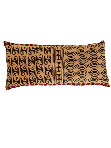 Vintage Indonesian Batik Textile Pillow 35500