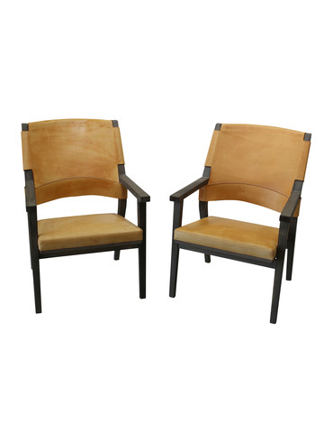 Pair of Vintage Swedish Lounge Chairs 35933