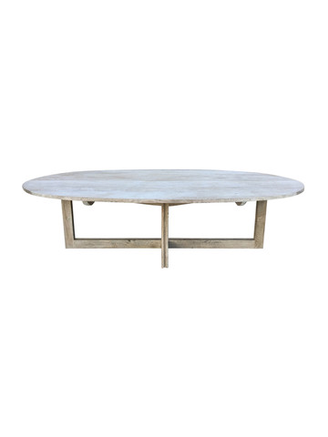 Limited Edition Oval Oak Dining Table 38188