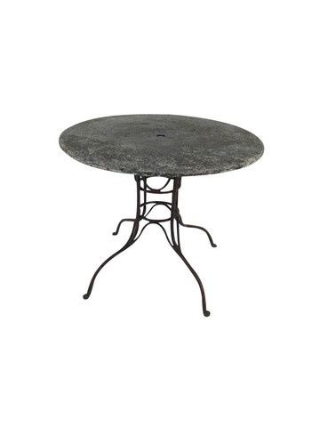 French 19th Century Metal Garden Table 36779