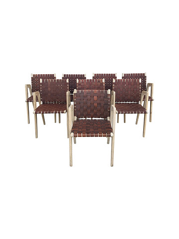 Lucca Studio Giles Chairs Set of (8) 34980