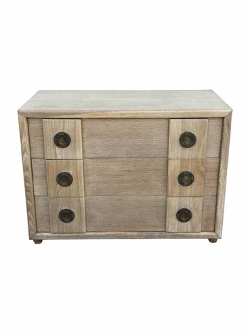 Exceptional French 1940's Oak Commode 36837