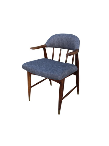 Single French Cerused Arm Chair 21475