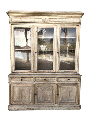 19th Century French Oak Cabinet 35487