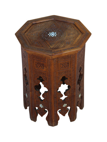 Antique Syrian Side Table