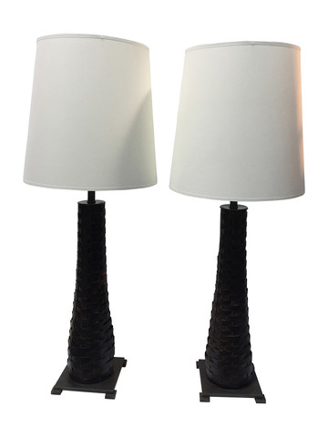 Pair of Lucca Limited Edition Lamps 36759
