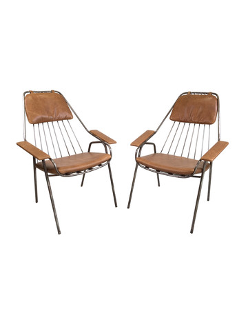 Pair of Limited Edition Armchairs 27922